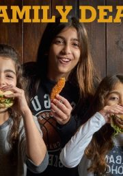מבצע משפחתי בבורגר סאלון